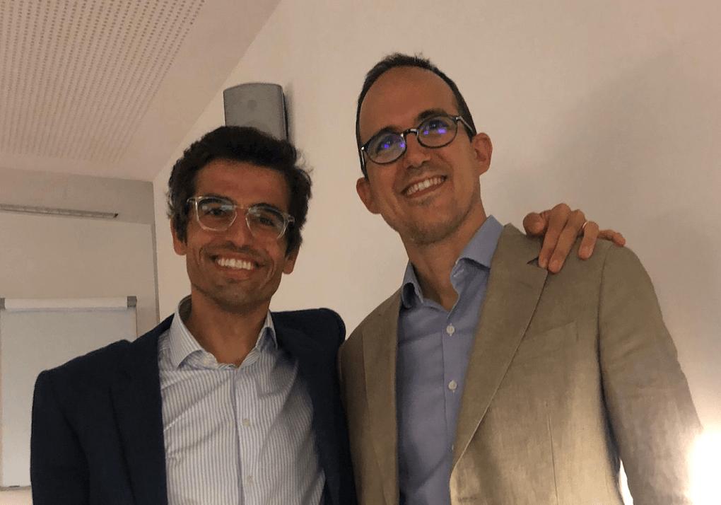 Dr Rubio y García Linares en la asamblea de la SCBCMFO